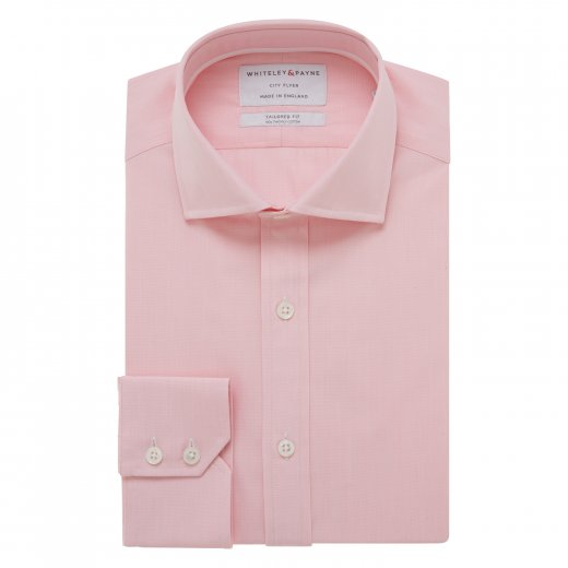 CITY FLYER Pink Poplin Single Cuff (Tailored Fit)
